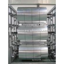Aluminium foil in large jumbo