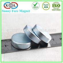 jiangmen top sale zinc coated neodymium magnet