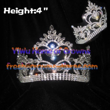 4inch Wholesale Queen Crystal Crowns