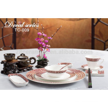 spanish style dinnerware set , country style tableware for wedding