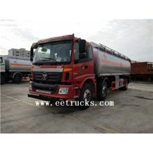 Auman 8 wheel 21 CBM Fuel Tanker Trucks