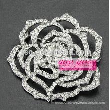 Flor cristalina glamorosa de la flor boton