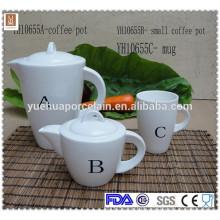 2015 Potenciômetro cerâmico do chá do café do projeto novo ajustado com caneca