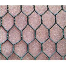 Trappe de homard / crabe / piège à poissons Embouchure hexagonale galvanisée à chaud et revêtue de PVC