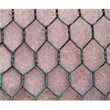 Armadilha de lagostas / armadilha de peixe / caranguejo revestido de PVC com mancal de arame hexagonal galvanizado quente