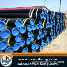 q235 scaffold black pipe and seamless steel pipe for export