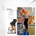 China Ladder Manufacturers Twinco 2-Step Stool para escritório