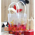 Gift wrapping flower bag /plastic bag/packing plant customized bag
