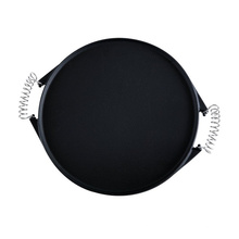 Pre-Seasoned Cast Iron Round Grill Pan with Removable Handles
