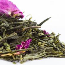 Großhandel Rose Sencha Tee Grüner Tee Aromen