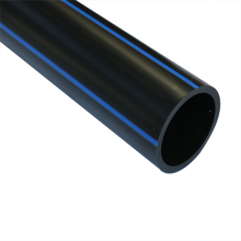 Black flexible plastic hdpe water pipe 4 inch plastic