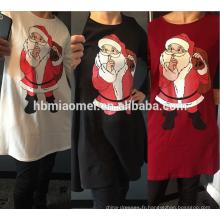 2017 Dernière Fille De Noël Tutu Robe Avec Blanc Et Vert Arbre De Noël Fille Robe Enfants Vêtements
