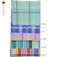 Desconto de algodão fornecedor de tecido de nylon madras