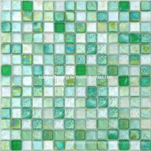 Iridescent Mosaic, Glass Mosaic Tile (HGM365)