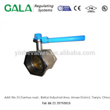 China hot sale thread válvula de corte com alavanca operador