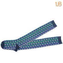 Cotton Knee High Sock for Women