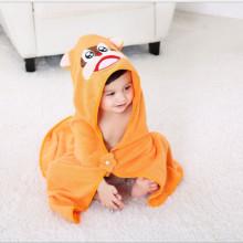 Child soft organic cotton towel poncho