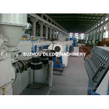 Linha de produção de extrusão de tubo de plástico PPR