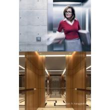 Ascenseur de passagers de petite salle des machines