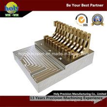 CNC-Bearbeitungs-Komplex-Messingteil für elektronisches Produkt
