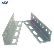 High Strength Slotted Galvanized Steel steel equal angle sizes