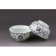 Copa de cerámica de flores de oro de Coffe
