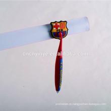 coelho forma personalizada pvc caneta macia com chapéu para crianças publicidade