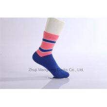 Otoño y Invierno señora algodón calcetines Mujer Crew calcetines de algodón para la venta al por mayor