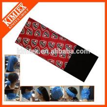 Customized cheap multifunctional tube seamless warm wear
