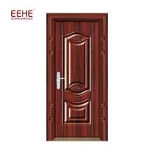 Porta de entrada de porta de segurança de porta de segurança de aço inoxidável de luxo