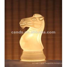 Lámpara de mesa pequeña de cerámica con luz nocturna para niños