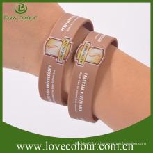 Пользовательские дешевые силиконовые резиновые браслет дружбы
