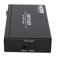 Hotsale 4X1 HDMI Switcher 1.4V avec sortie audio
