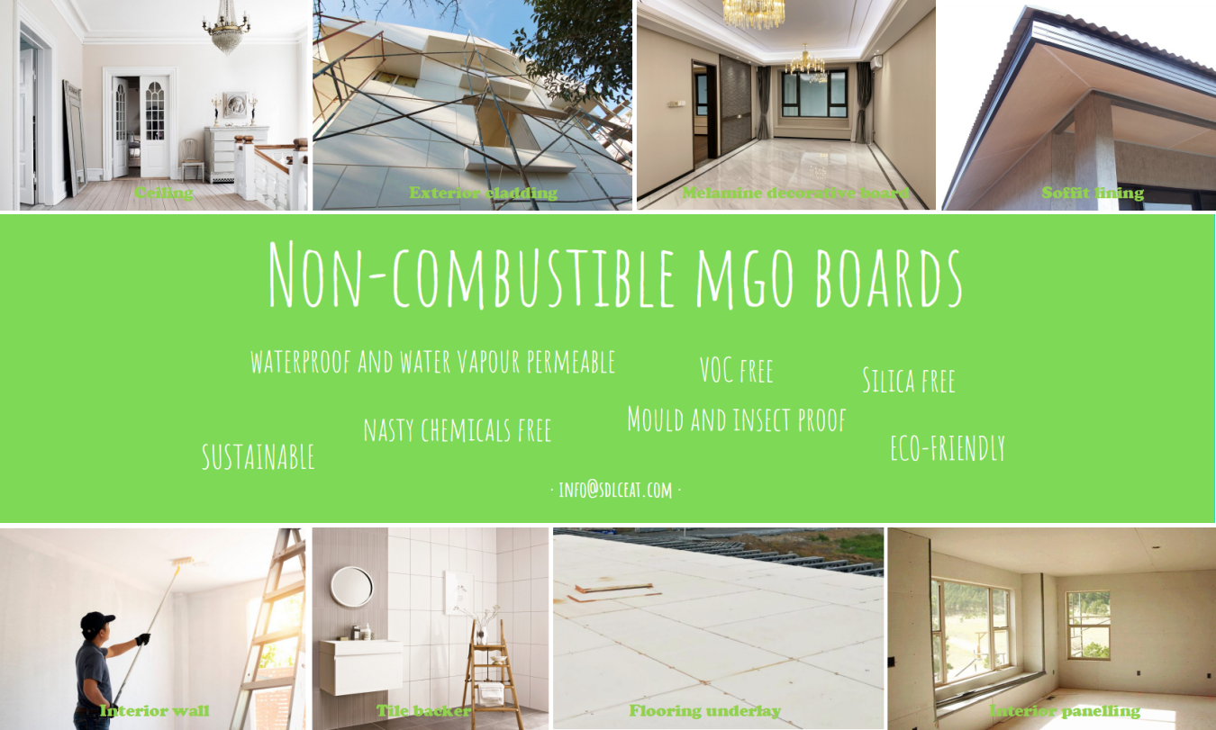 mgo non-combustible tile backer