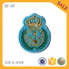 EP-07 Chine Patch de cravate de drap plat personnalisé patch de vêtement avec logo