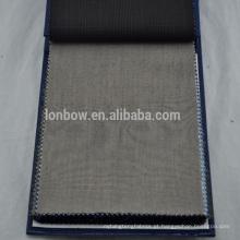 Angelico Super qualidade 100% lã sharkskin adequando tecidos para homens ternos