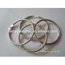 Quente vendendo o o anel de metal e elegante gancho e loop com preço barato