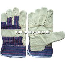 Möbel Leder gepatcht Palm Handschuh