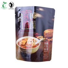 Bolsa de alimentos Nuts en buena barrera con cremallera resellable e impresión Customerize