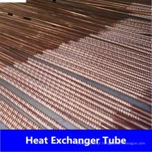 Tubo ondulado de níquel de cobre sem costura (CuNi90 / 10 CuNi70 / 30)