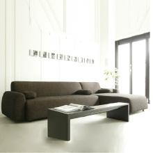 Moderno mobiliário nórdico canto de sala de estar sofá sofá da tela