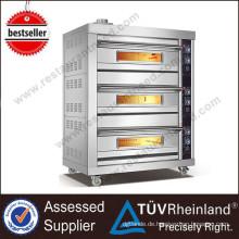 Volle Reihe Luxushotel-Ausrüstungs-Edelstahl-Körper-Gas-Plattform-Ofen