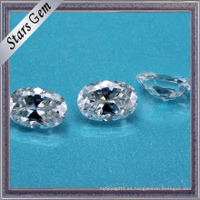 Proveedor de China corte oval Syntheitc Moissanite Diamond