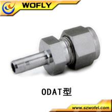 Hexágono Cabeça Código de aço inoxidável reduzindo forma conector de montagem de tubulação