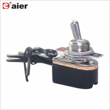 Daier ON-OFF 12VDC Wired Spring Return Toggle Switch