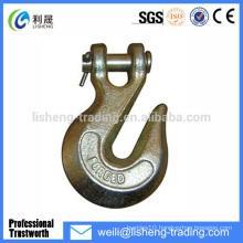 Super alloy steel g80 clevis crane lifting hooks