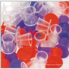 Tasse à encre n ° 9 de qualité supérieure, petite tasse à encre colorée pour tatouage, récipient à maquillage jetable