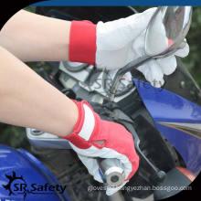 SRSAFETY pig grain fashion women leather glove