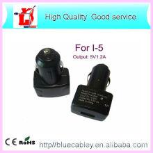 Nuevo y cargador del coche del USB de la alta calidad 5V1.2A para iPhone4 / 4S / 5