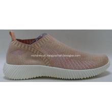 respirável flyknit mulheres sapatos casuais tênis da moda